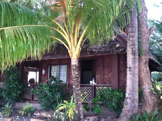 Alona Tropical Beach Resort: The beachfront cottage