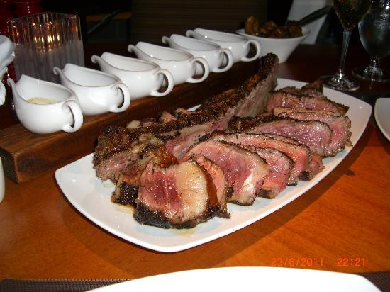 Four Seasons Resort and Residences Whistler: Sidecut - Steak to share