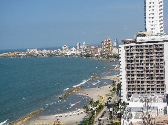 Hotel Cartagena Plaza : view from hotel