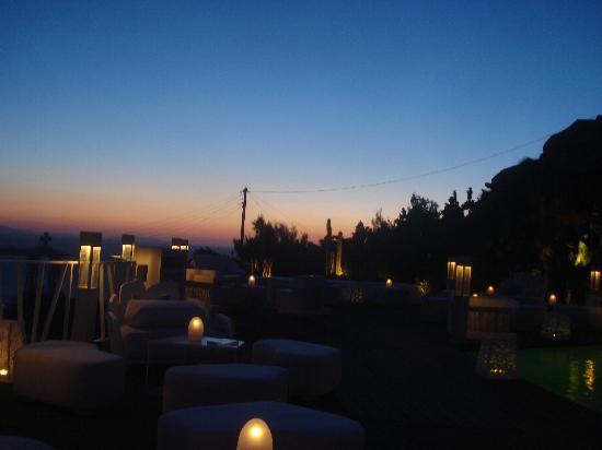Gola Restaurant: Stunning sunset