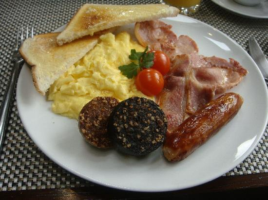 Abbeyglen Cottage B&B : Cooked Breakfast