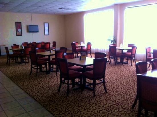 Super 8 Longview/North: Breakfast area