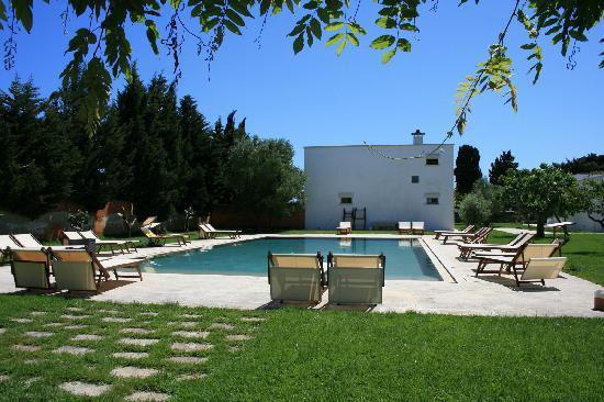 Masseria Montelauro: Pool View