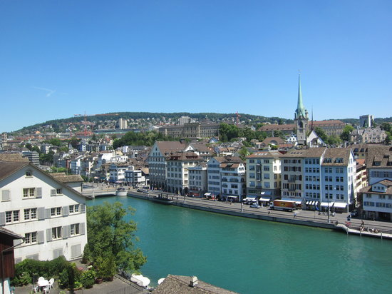 Цюрих, Швейцария: Blick Richtung Central
