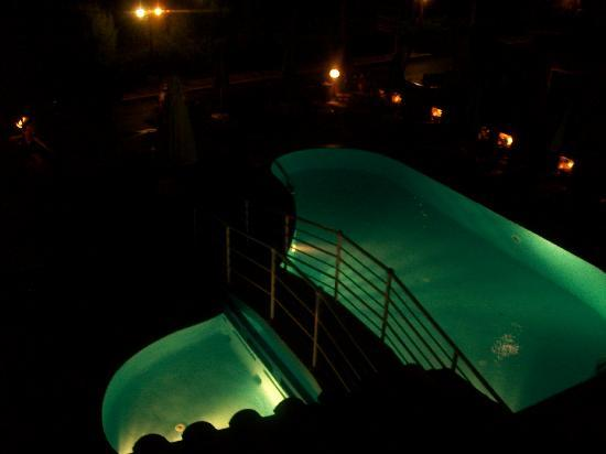 Lena Apartments: pool at night