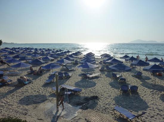 Neptune Hotels - Resort, Convention Centre & Spa: Strandabschnitt links 2
