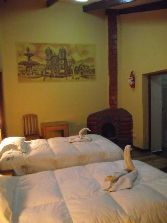 Orquidea Real Hostal : habitacion doble