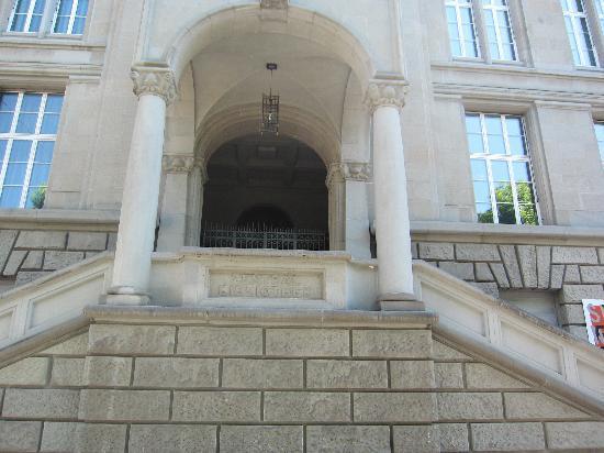 Zentralbibliothek: Haupteingang