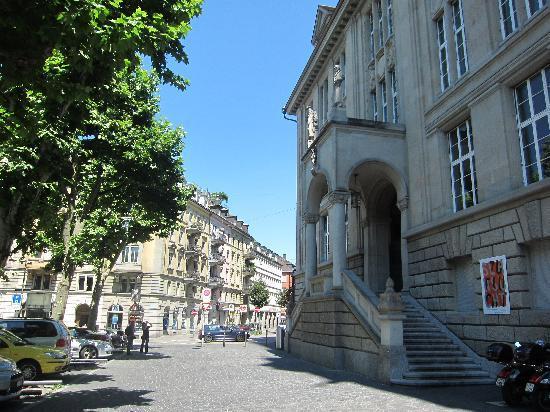 Zentralbibliothek : Aussenansicht
