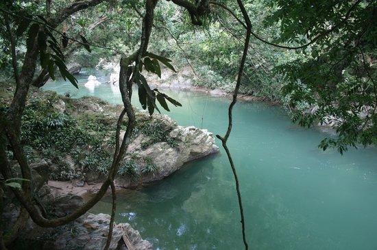 Puerto Triunfo, Colombia: Rio Claro