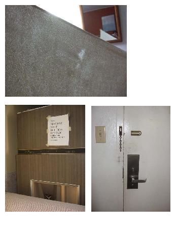 Americas Best Value Inn: Threadbare towels, broke ice machine, broke door lock