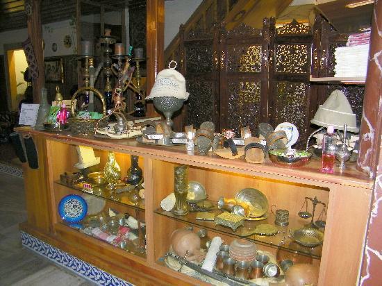Suleymaniye Hamami: mostrador donde se paga, al entrar