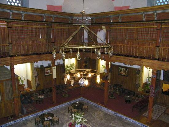 Suleymaniye Hamami: vista desde la parte superior del hamam