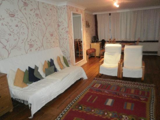 Ridderspoor Holiday Flats: Sala de estar