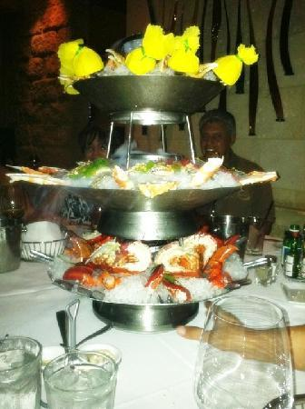 Mastro's Ocean Club : $500 Seafood Tower Appetizer