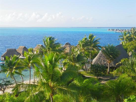 Maitai Polynesia Bora Bora: Vue depuis le balcon