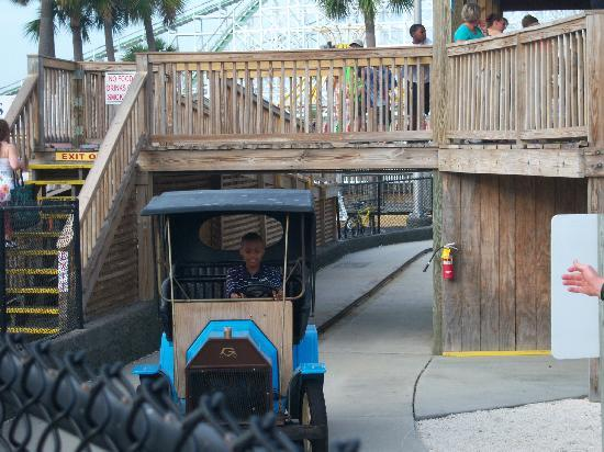 Family Kingdom Amusement Park: They can drive cars