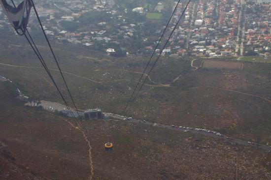 Table Mountain Walks: Back to the start by cablecar
