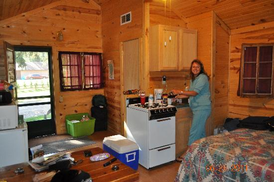 Inside The Prospector Cabin Picture Of Spearfish Canyon