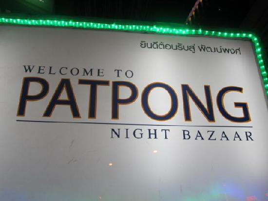 Patpong Night Market : welcome to Patpong