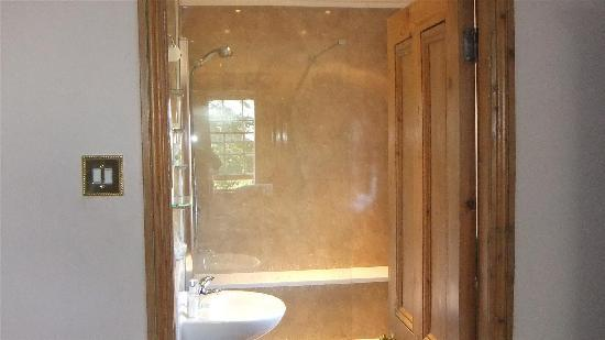 Gringley Hall: the shower room