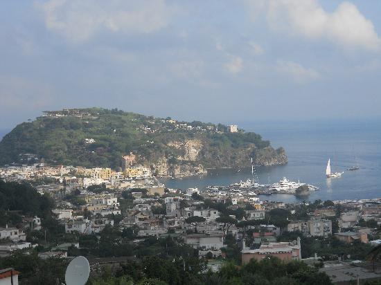 Hotel Villa Sirena: il panorama dal solarium