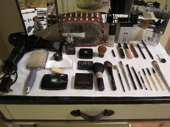 Mr. C Beverly Hills: My brilliantly arranged makeup