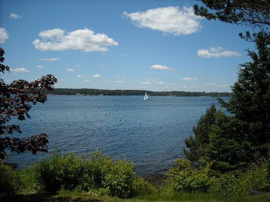 Spruce Point Inn Resort and Spa: The view from the resort -- priceless!