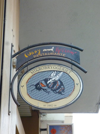 Curry & Ketchup Restaurant: Restaurant's outdoor sign