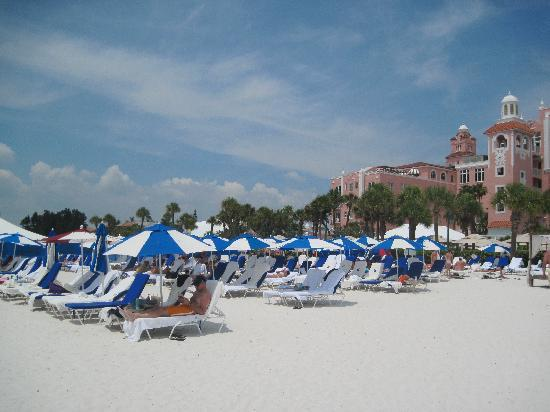 The Don CeSar: Tight squeeze on the beach