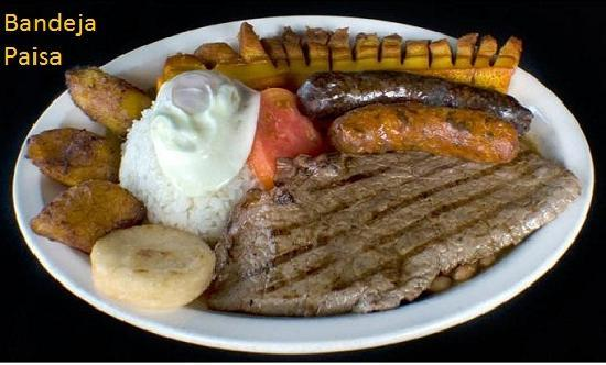 Sabor Latino Restaurant: Bandeja Paisa