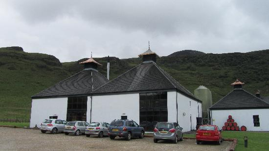 Isle of Arran Distillers: Two buildings on the tour
