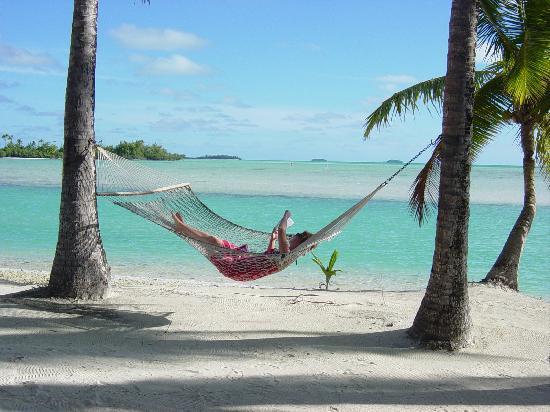 Aitutaki Lagoon: Resting