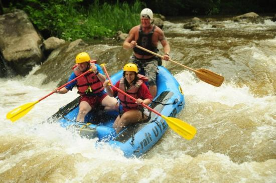 Cheat River Outfitters: Rafting the Upper Yough