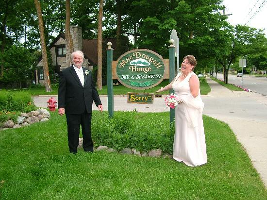 MacDougall House Bed and Breakfast: After the wedding