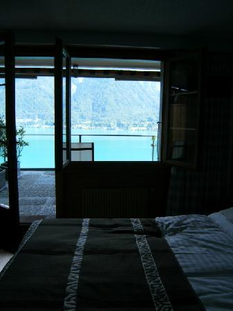Hotel Brienzersee: Sit up and take in the view