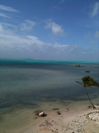 La Beliza Resort: view from our balcony at Blue Reef