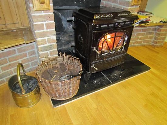 The Rise B&B: peat fire