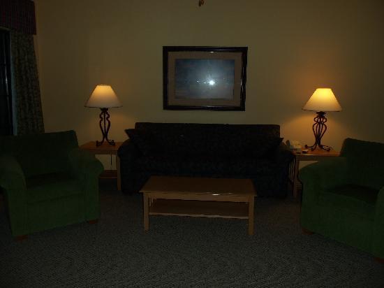 Falls Village Resort: Living Room in 1 bedroom apartment