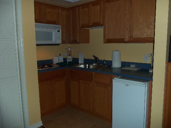 Falls Village Resort: Kitchen in Studio apartment