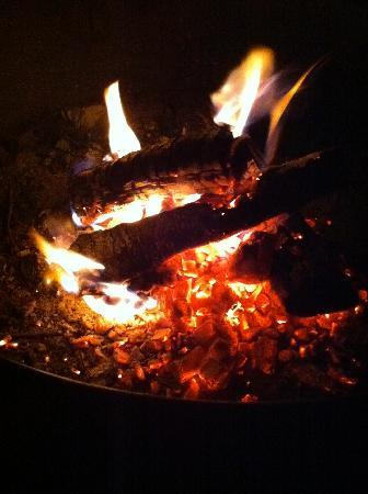 Bar Harbor Campground KOA: All good campgrounds need a place for a decent fire