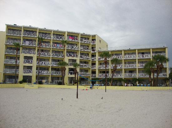 Alden Suites: The Alden from the beach