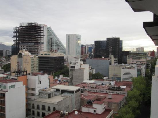 Hotel Century Zona Rosa Mexico: Vista desde el balcon