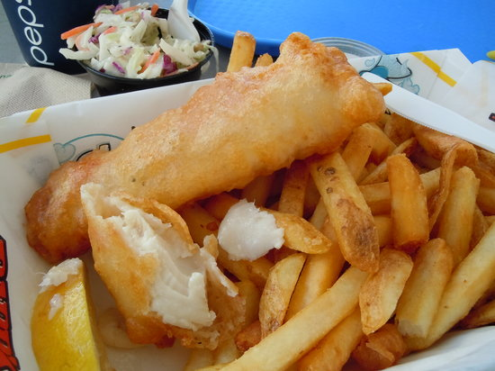 Barb's Fish and Chips: Fish and chips