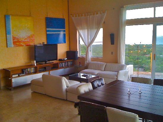 Vieques Villa Gallega A-16-N: Living area