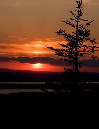 Mount Desert Island: Sunset from Cadillac Mountain