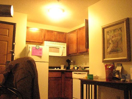 Staybridge Suites - Novi: my room kitchen