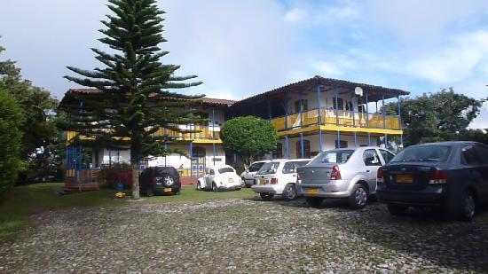 Hacienda Combia: frente