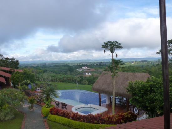 Hacienda Combia: vista