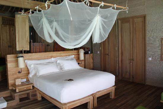 Six Senses Laamu: Comfort bed in style